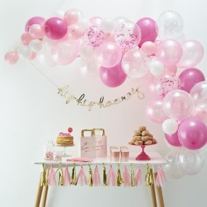 Pink Balloon Arch DIY Kit