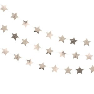 Rose Gold Star Garland. Party decorations in Bristol