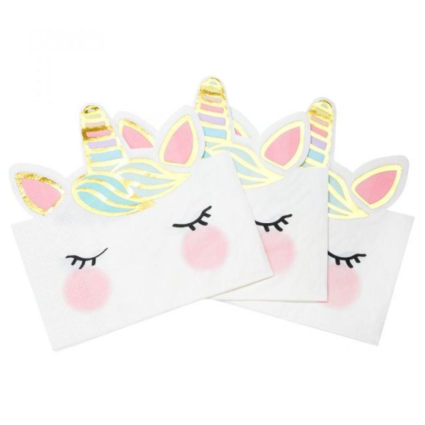 Buy unicorn face party napkins. Party Shop Bristol Unicorn Party decorations. Best unicorn party ideas
