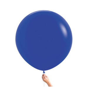 "Royal Blue 30"" Latex Balloon Bristol Party Shop Clifton Whiteladies Road Helium Balloon"