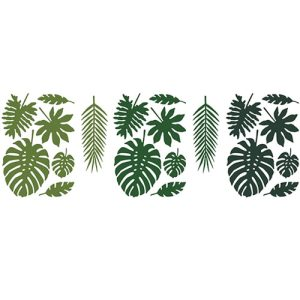 Buy tropical leaf paper decorations in Bristol. Best party decorations for tropical party theme. Tropical birthday theme
