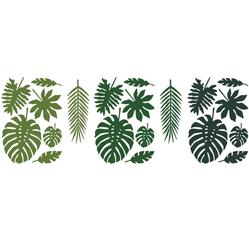 Buy Tropical Leaves. Card leaves. Decorative leaves for Hawaiian party.