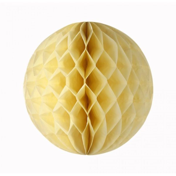 buy pastel yellow honeycomb in Bristol Party Shop