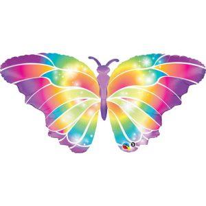 butterfly balloon helium magic party birthday