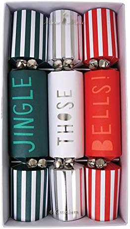 JINGLE THOSE BELLS CRACKERS christmas helium party boxing day new year present snow