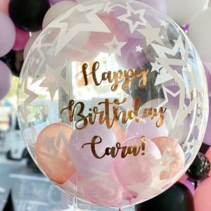 Printed Personalised Helium Balloon birthday fun hen do wedding gift decoration baby shower