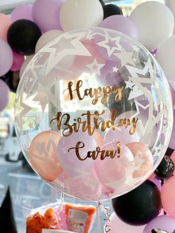 Printed Personalised Helium Balloon birthday fun hen do wedding gift decoration baby shower