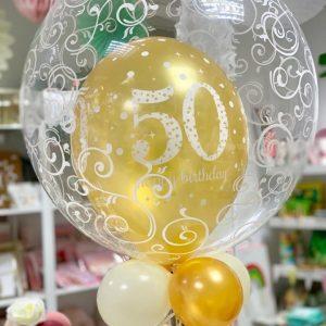 Bubble Balloon Latex Filled