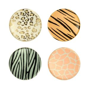 Animal Print Party Plates Bristol party shop leopard