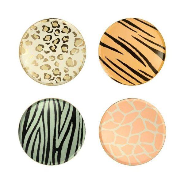 Animal Print Party Plates Bristol party shop leopard