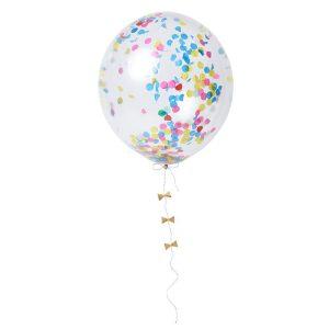 Bright Confetti Balloon Kit