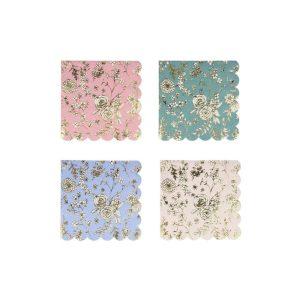 English Garden Lace Small Napkins