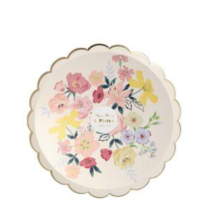 English Garden Dinner Plates