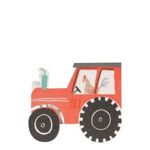 Farm Tractor Napkins