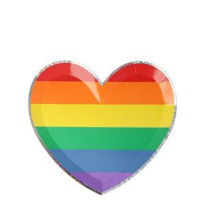 Rainbow Heart Small Plates