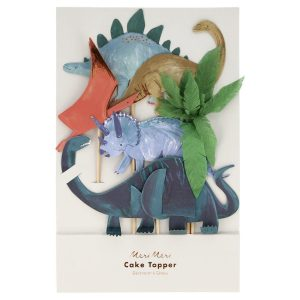 Dinosaur Kingdom Cake Toppers