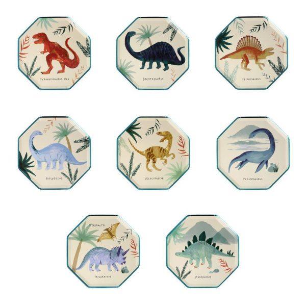 Dinosaur Kingdom Side Plates