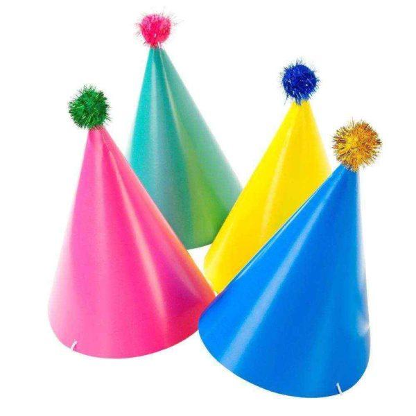 Bright paper hat