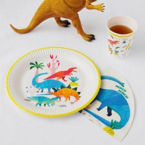 Party Dinosaur Plates