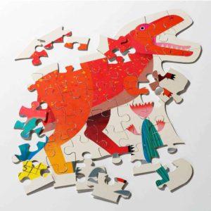 Dinosaur Tyrannosaurus Rex Shaped Puzzle