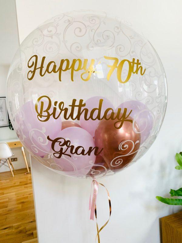 Deco Bubble Balloon Filigree