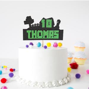 Minecraft Kids Cake Topper