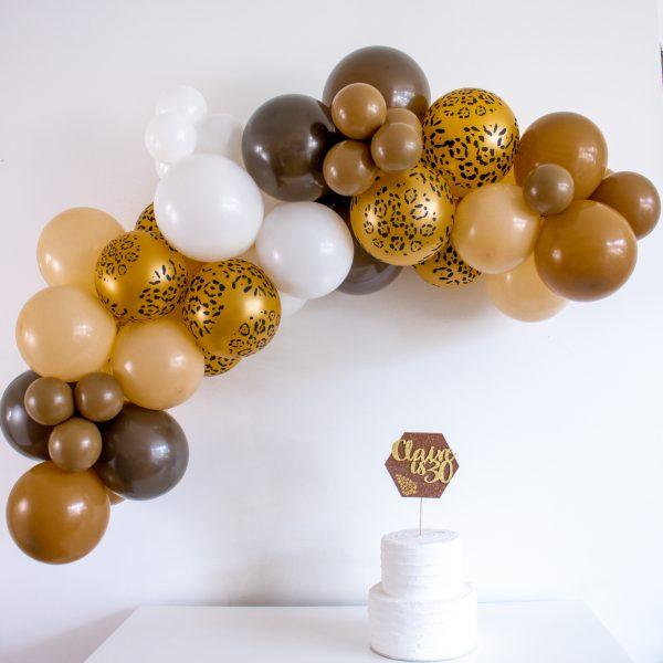Animal Print Balloon Arch