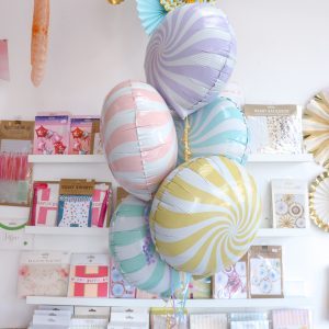 Candy Foil Balloons Pastel