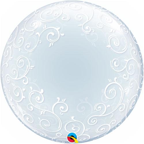 filigree qualatex bubble