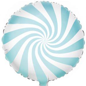 Light Blue Candy Foil Balloon