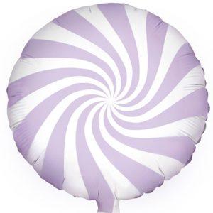 Candy Foil Balloon Lilac Pastel