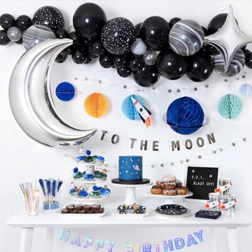 Space Party Decoration Balloon Arch