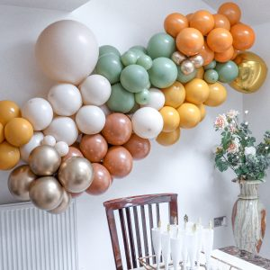 mustard balloon arch kit