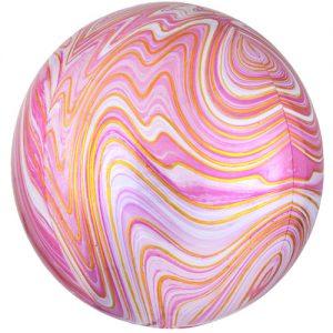 pink orbz marble