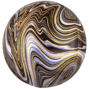 marble orbz black