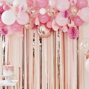 Blush and Peach Backdrop