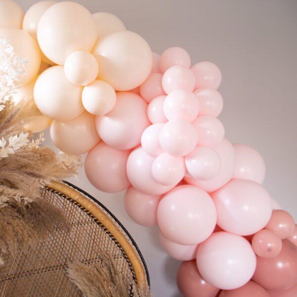 Soft Pink Balloon Arch