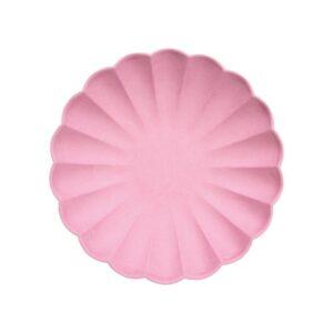 Deep pink eco small plates