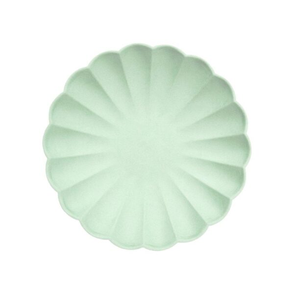 pale mint eco small plates