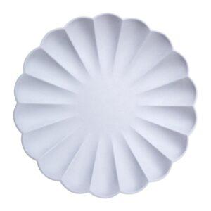 Pale blue Eco Plates