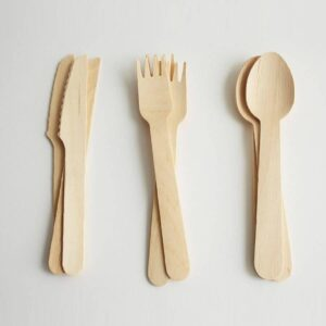 Wooden Party Cutlery biodegradable