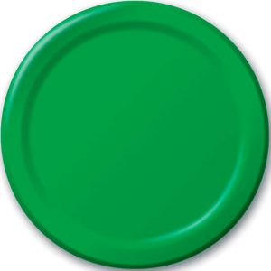 Emerald Green Party Plates