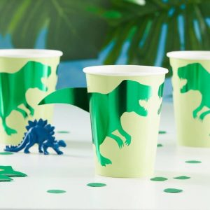 Paper Dino Cups