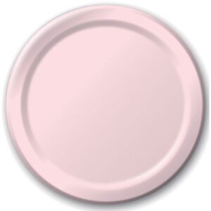 Pale Pink Party Plates