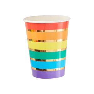 Rainbow Cup Gold Detail